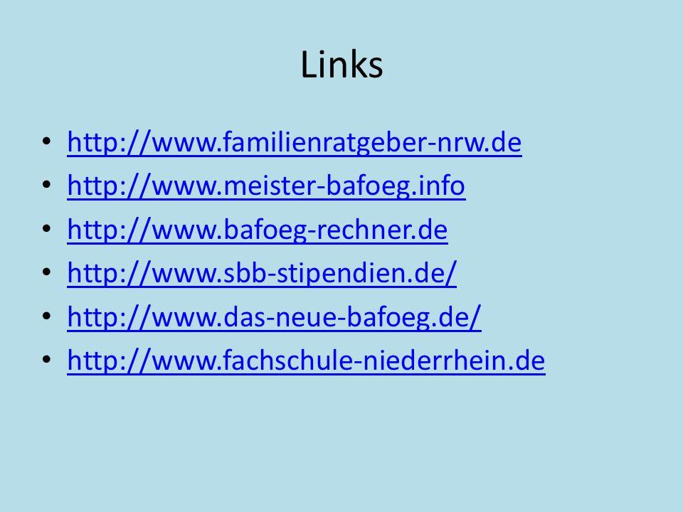 Links http://www.familienratgeber-nrw.de