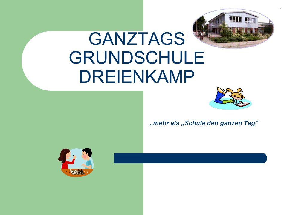 GANZTAGS GRUNDSCHULE DREIENKAMP
