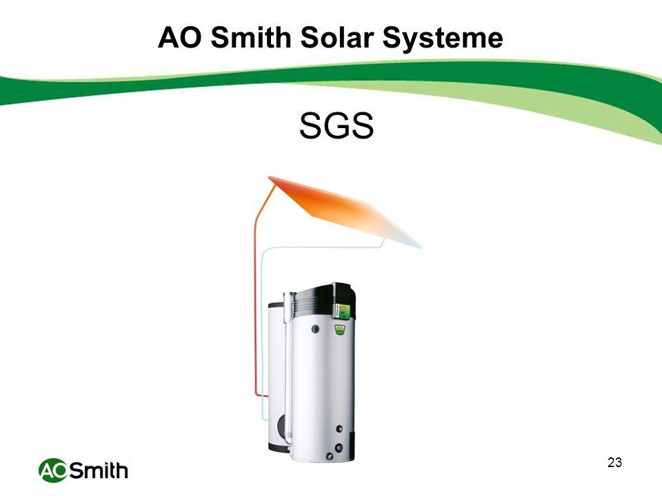 AO Smith Solar Systeme SGS