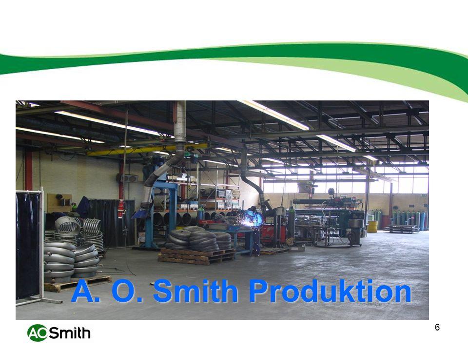 A. O. Smith Produktion