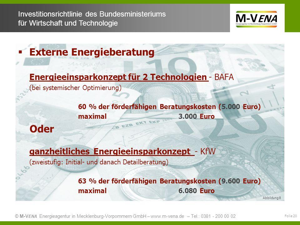 Externe Energieberatung