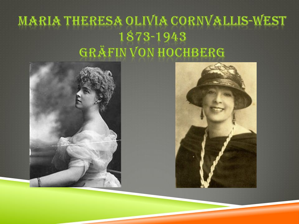 Maria Theresa Olivia cornvallis-west