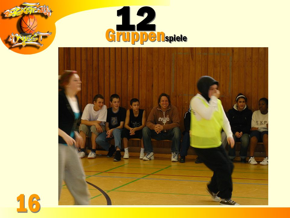 Gruppenspiele 16 12