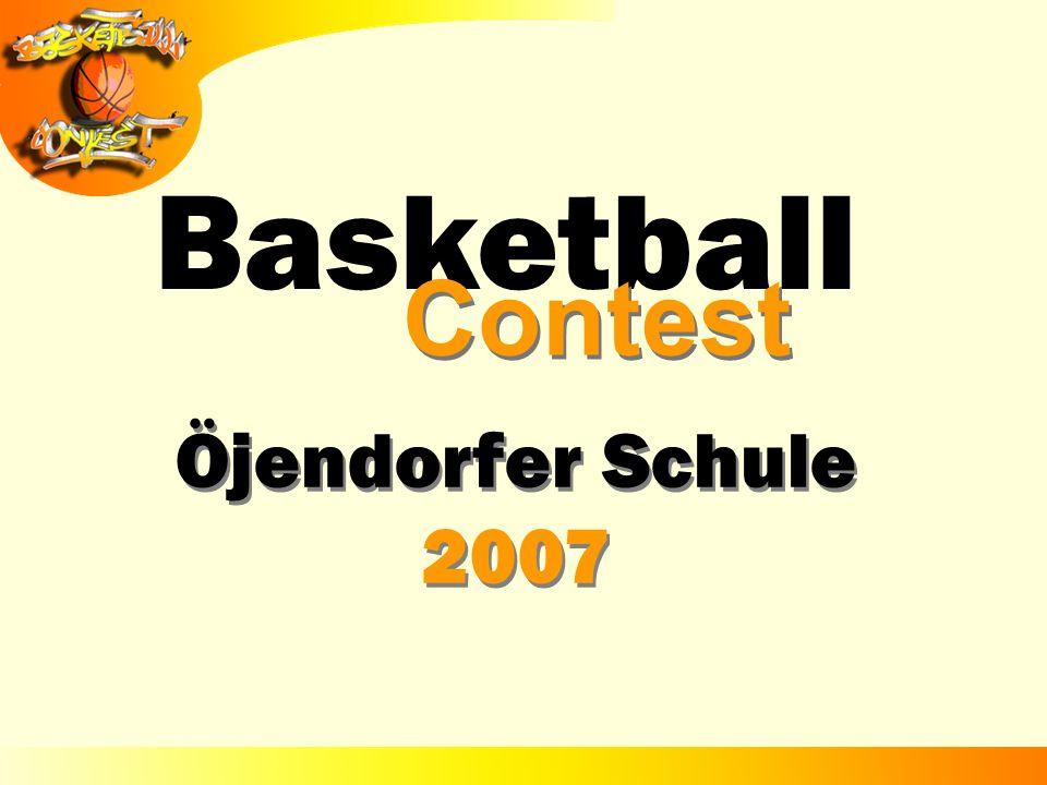 Basketball Contest Öjendorfer Schule 2007