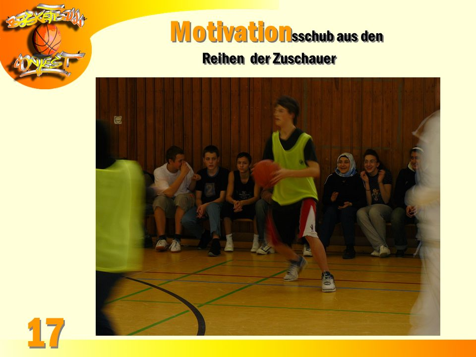 Motivationsschub aus den
