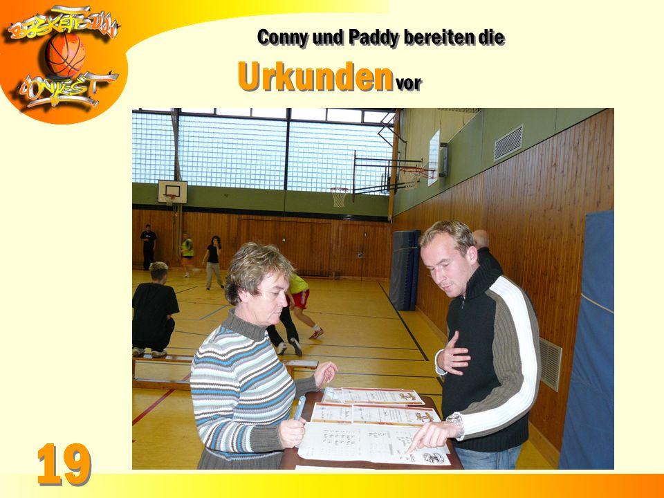 Conny und Paddy bereiten die