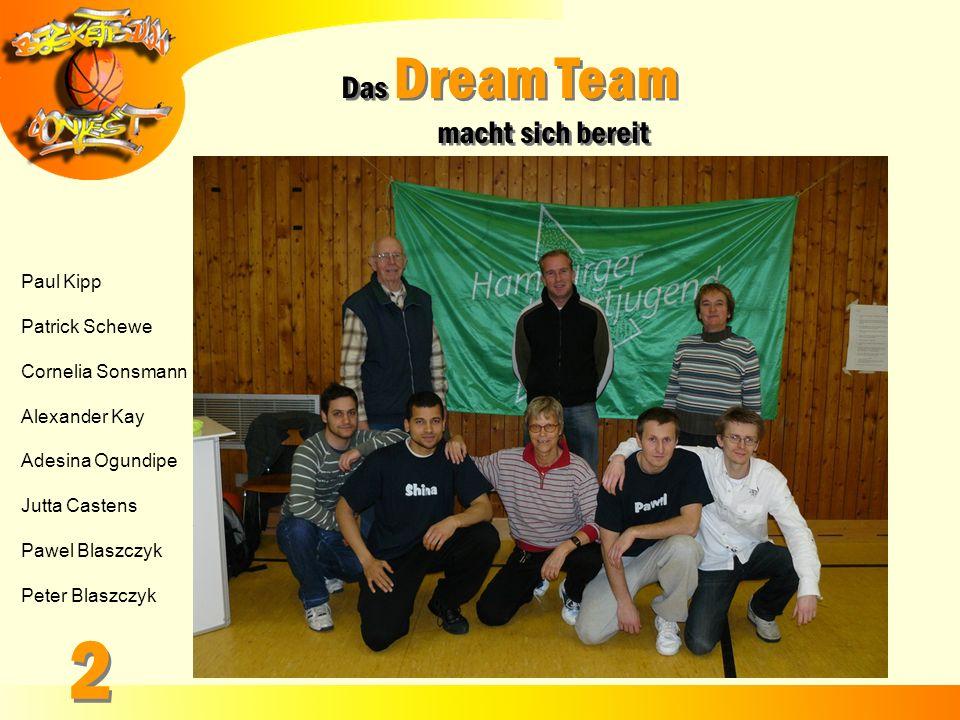 2 Das Dream Team macht sich bereit Paul Kipp Patrick Schewe