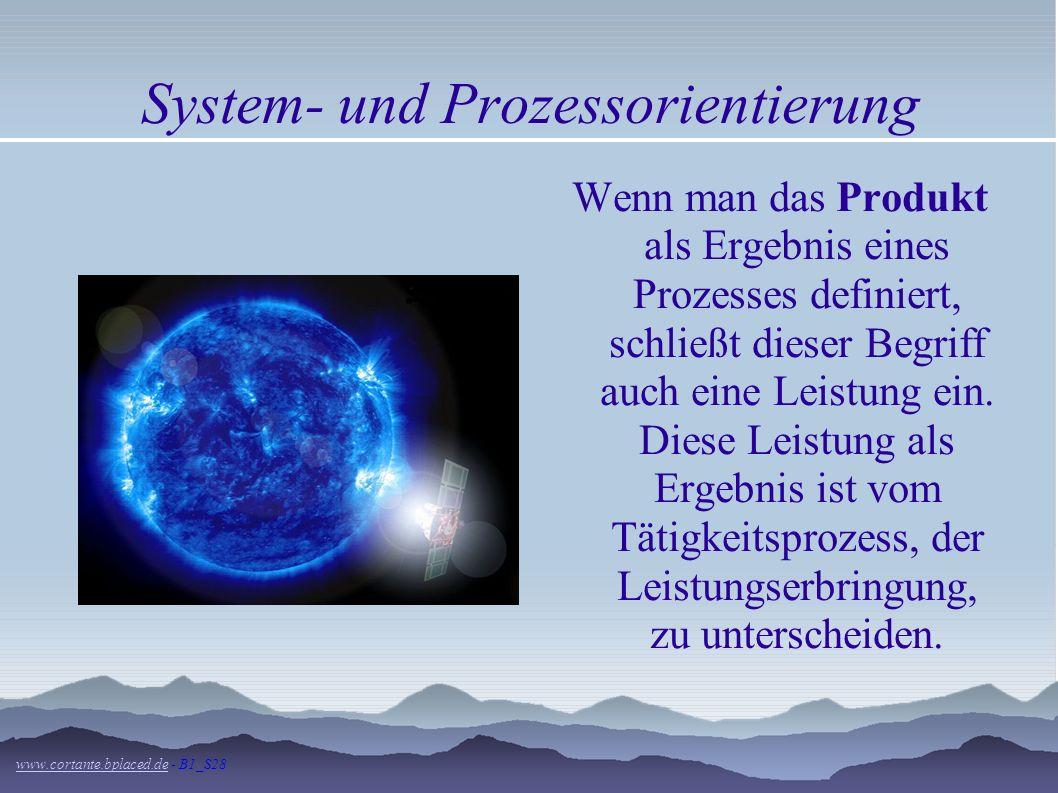 System- und Prozessorientierung