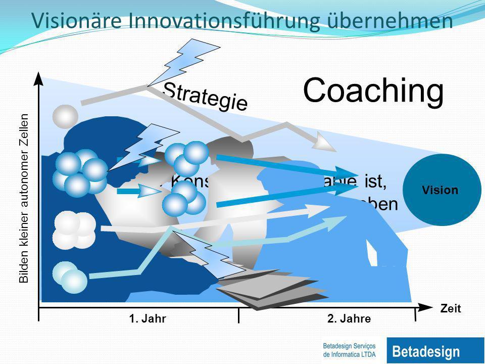 Visionäre Innovationsführung übernehmen