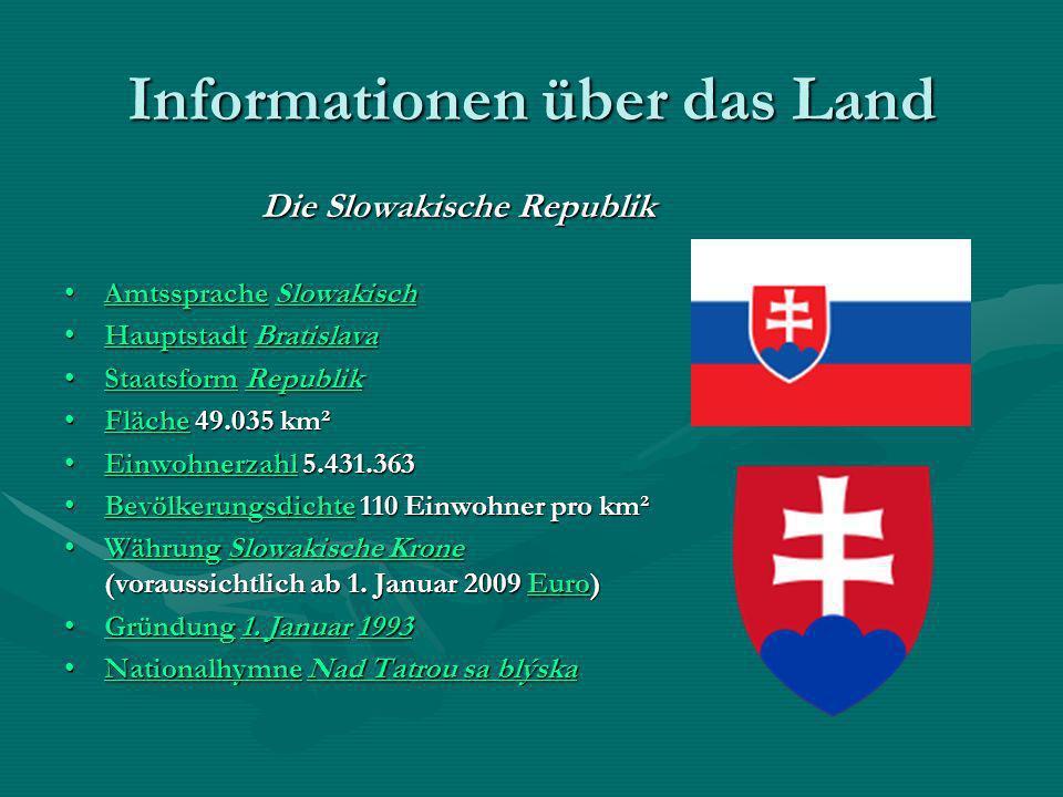 Informationen über das Land