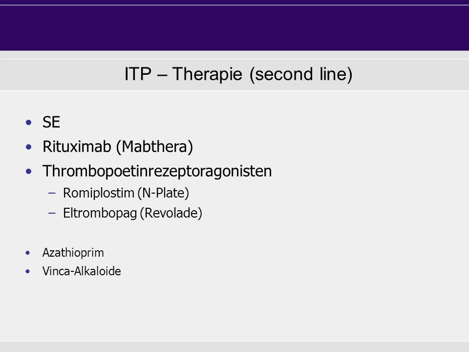 ITP – Therapie (second line)