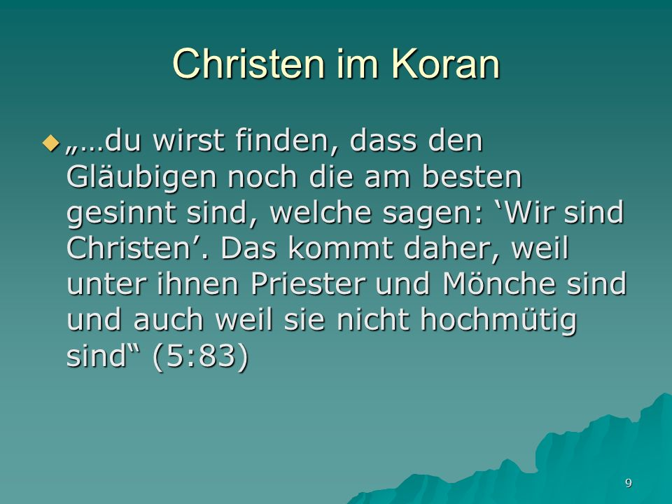 Christen im Koran