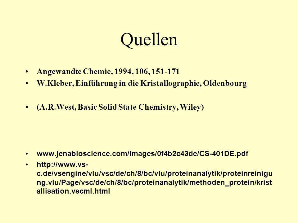 Quellen Angewandte Chemie, 1994, 106, 151-171
