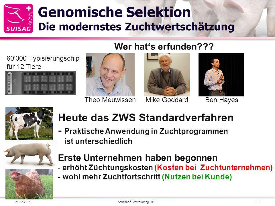 Genomische Selektion Die modernstes Zuchtwertschätzung