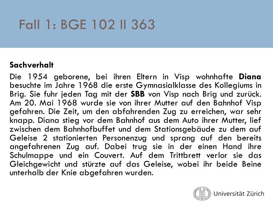 Fall 1: BGE 102 II 363