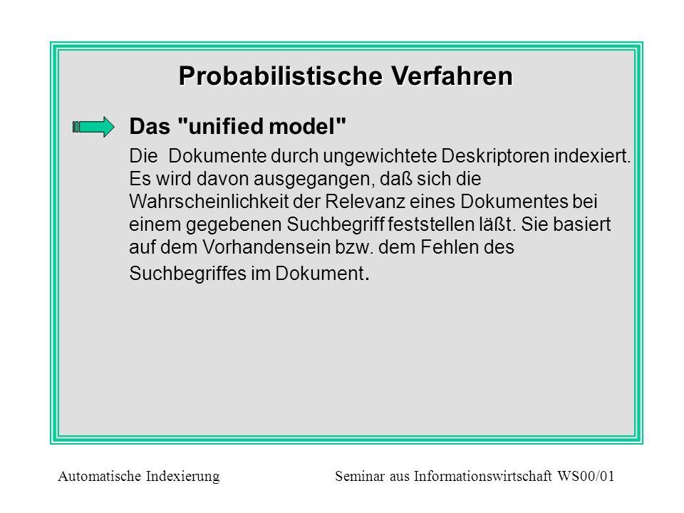 Probabilistische Verfahren