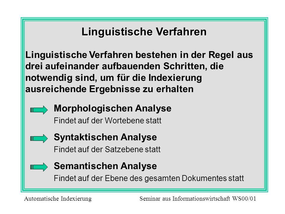 Linguistische Verfahren