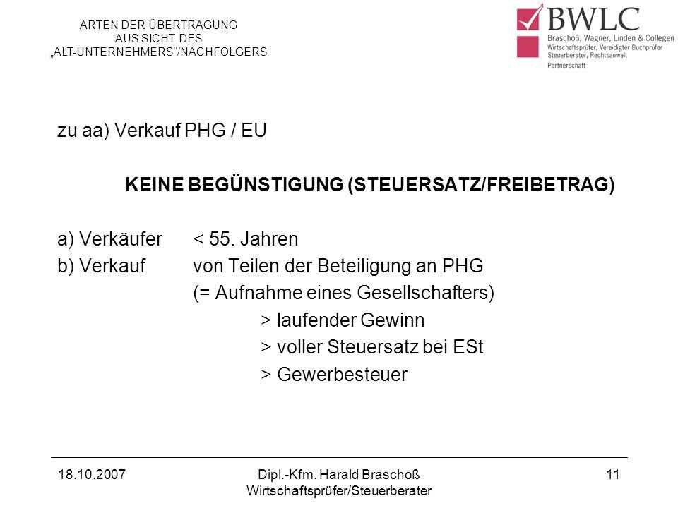KEINE BEGÜNSTIGUNG (STEUERSATZ/FREIBETRAG)
