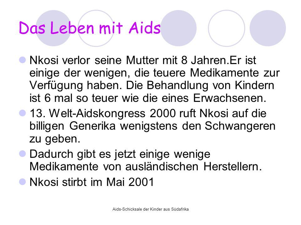 Aids-Schicksale der Kinder aus Südafrika