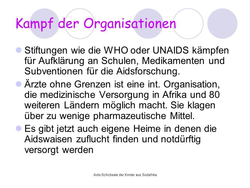 Kampf der Organisationen