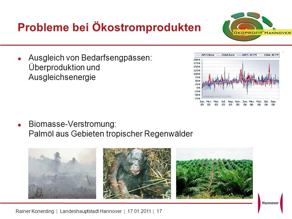 Probleme bei Ökostromprodukten