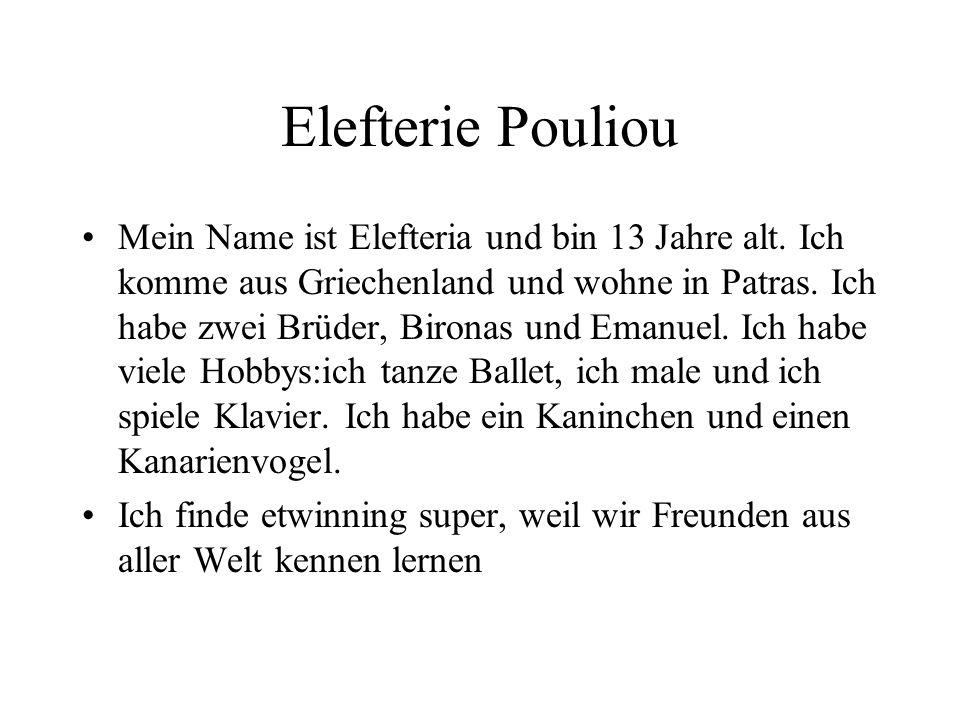 Elefterie Pouliou