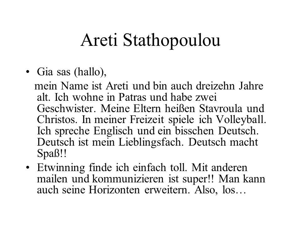 Areti Stathopoulou Gia sas (hallo),