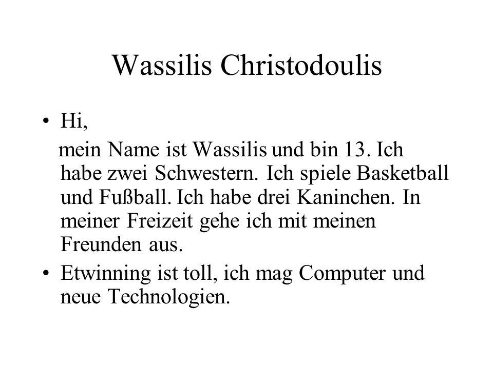 Wassilis Christodoulis
