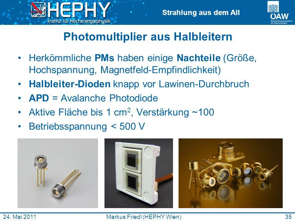 Photomultiplier aus Halbleitern