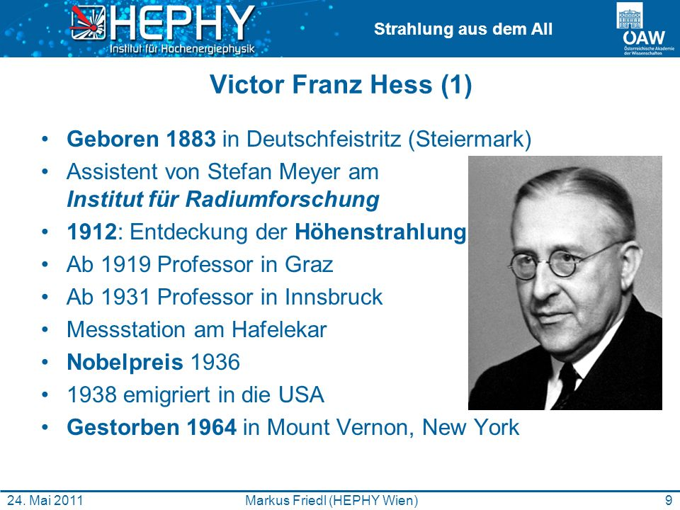 Markus Friedl (HEPHY Wien)