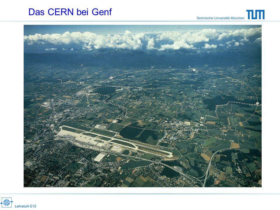 Das CERN bei Genf