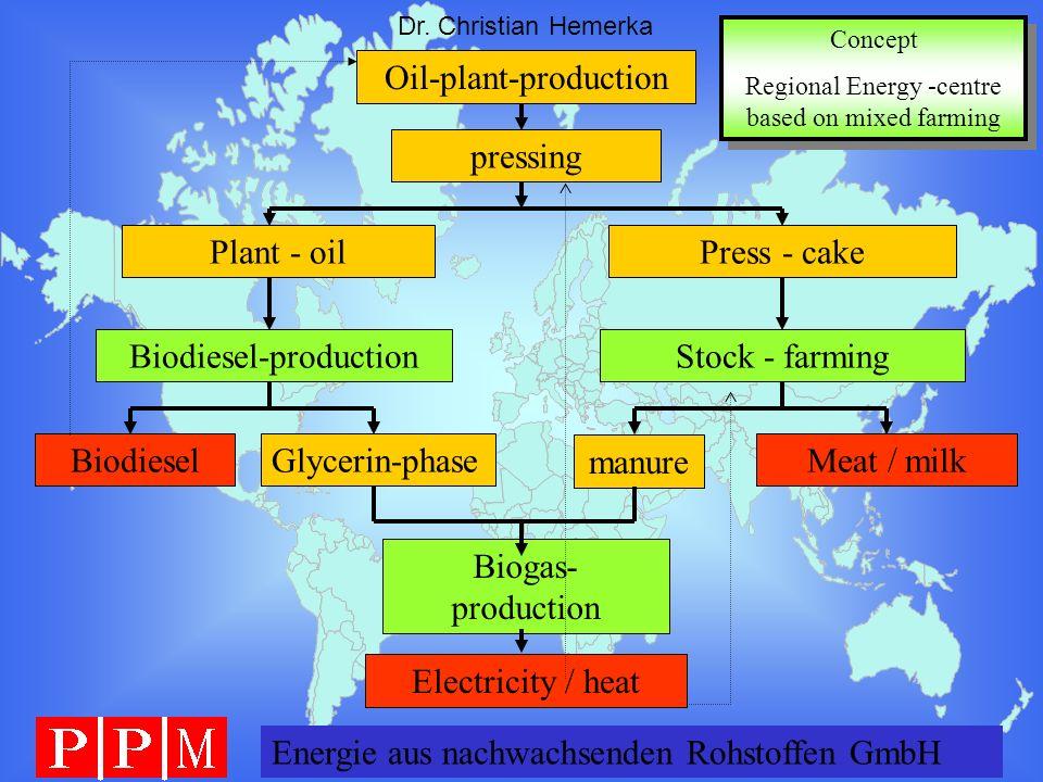 Oil-plant-production