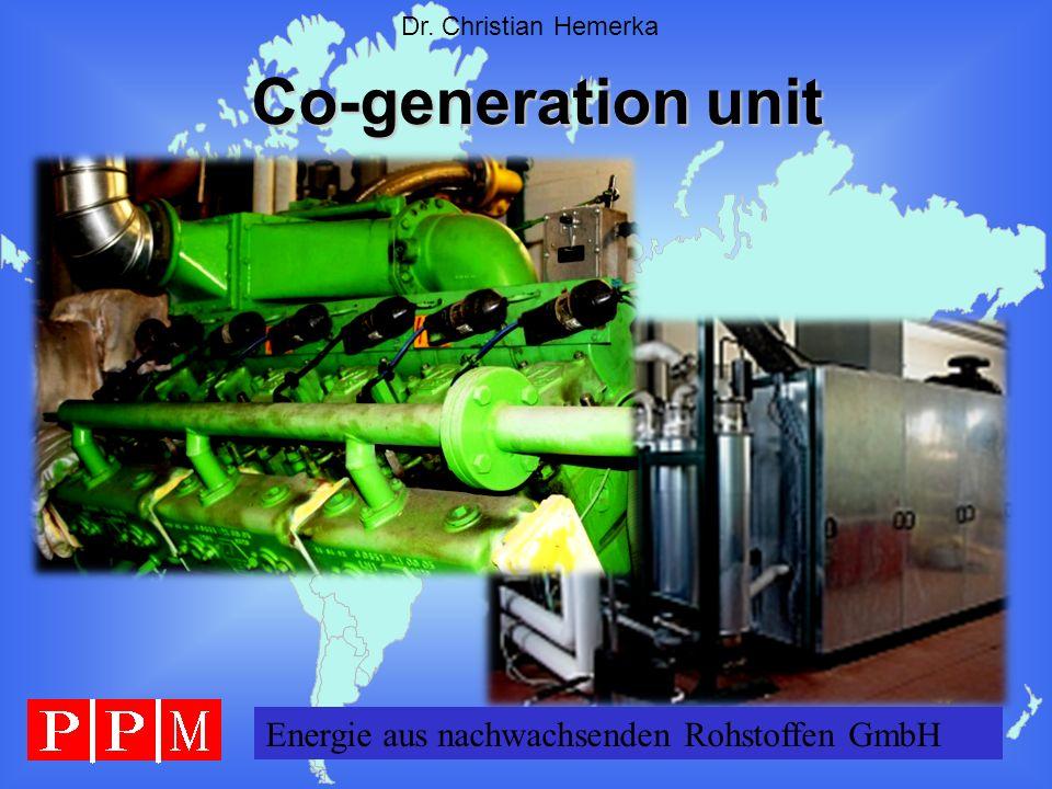 Co-generation unit Energie aus nachwachsenden Rohstoffen GmbH