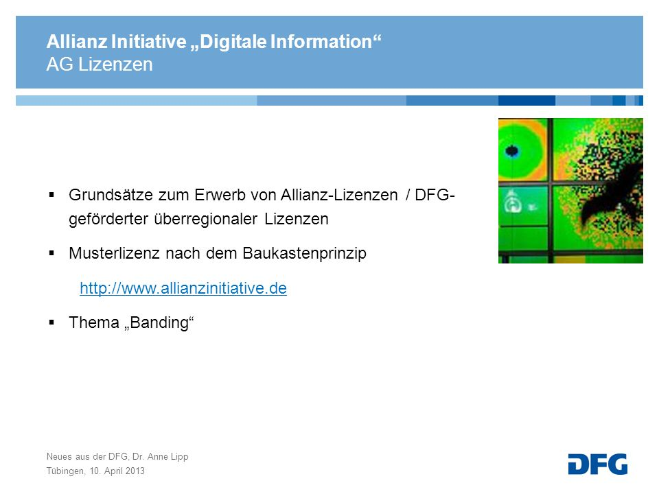 "Allianz Initiative ""Digitale Information"