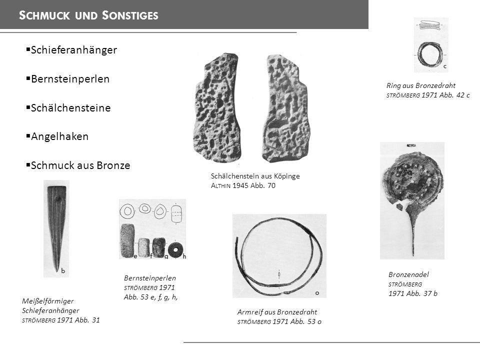 Schmuck und Sonstiges Schieferanhänger Bernsteinperlen Schälchensteine