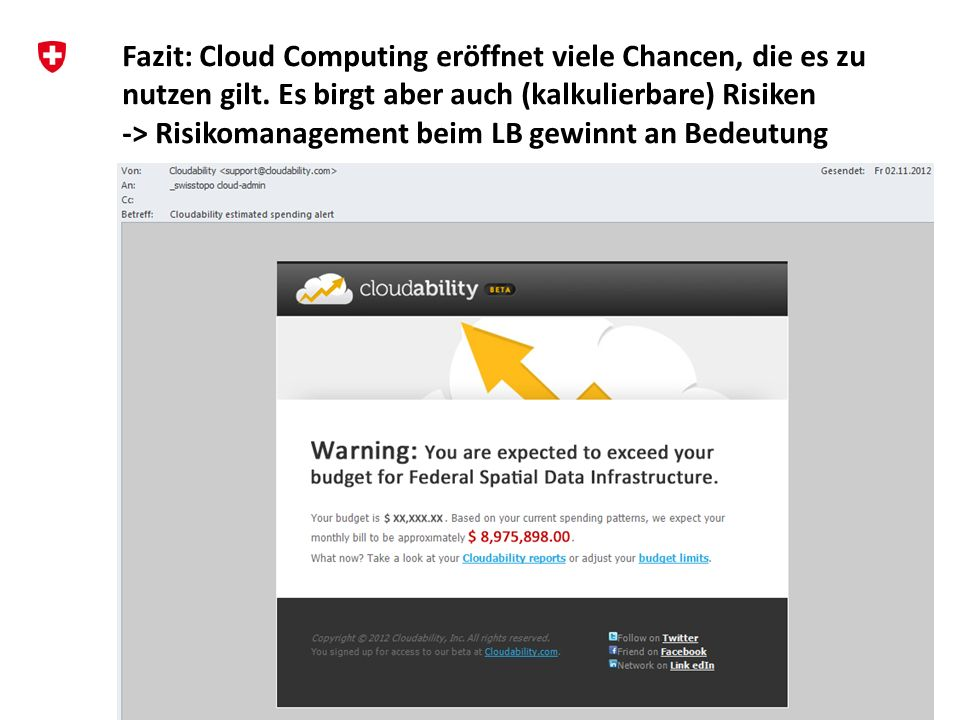 Fazit: Cloud Computing eröffnet viele Chancen, die es zu nutzen gilt