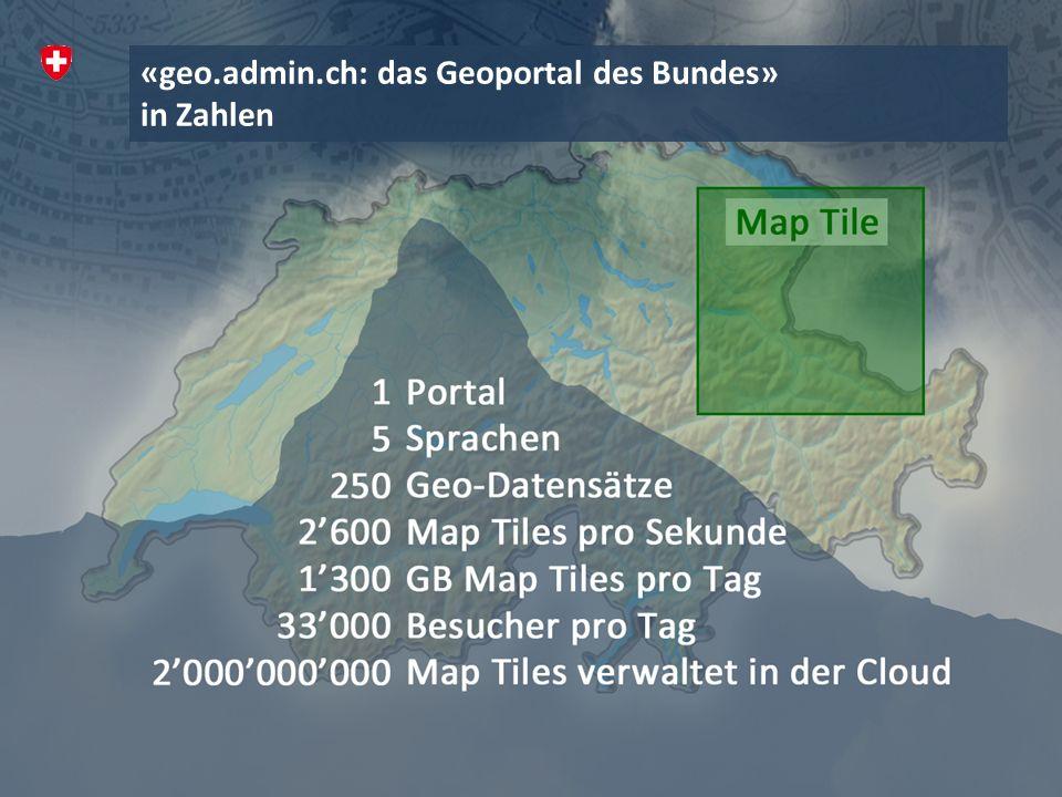 «geo.admin.ch: das Geoportal des Bundes»