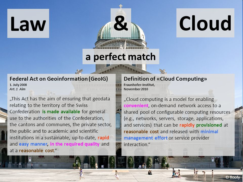 Law & Cloud a perfect match