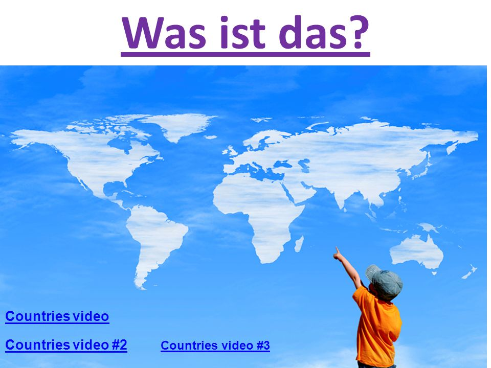 Was ist das Countries video Countries video #2 Countries video #3