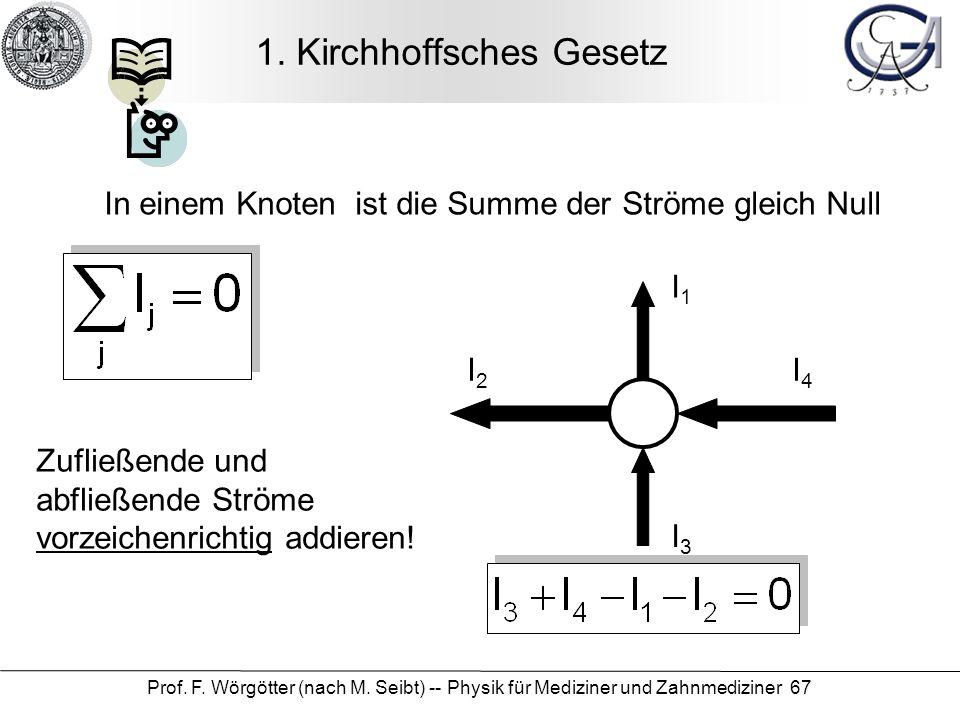 1. Kirchhoffsches Gesetz