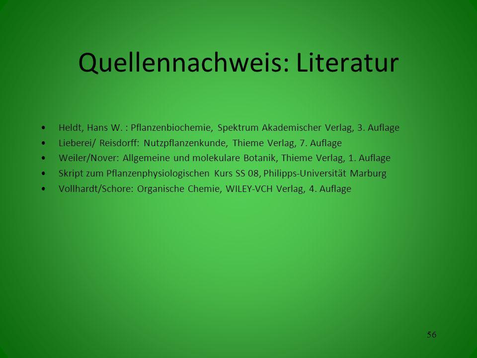 Quellennachweis: Literatur