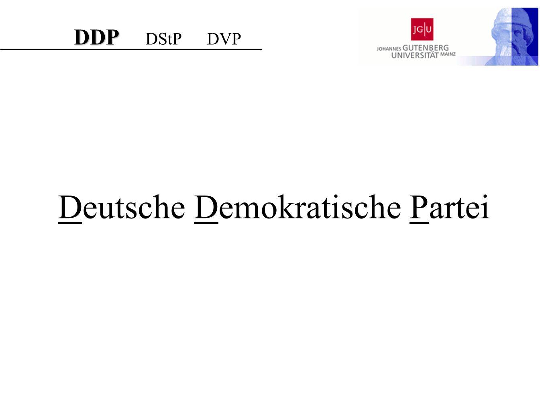 Deutsche Demokratische Partei