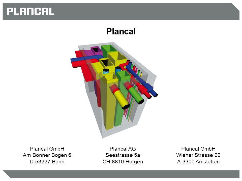 Plancal Plancal GmbH Am Bonner Bogen 6 D-53227 Bonn