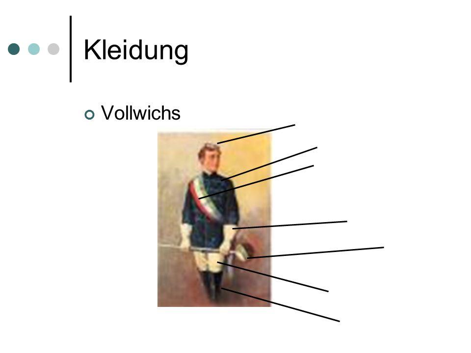 Kleidung Vollwichs