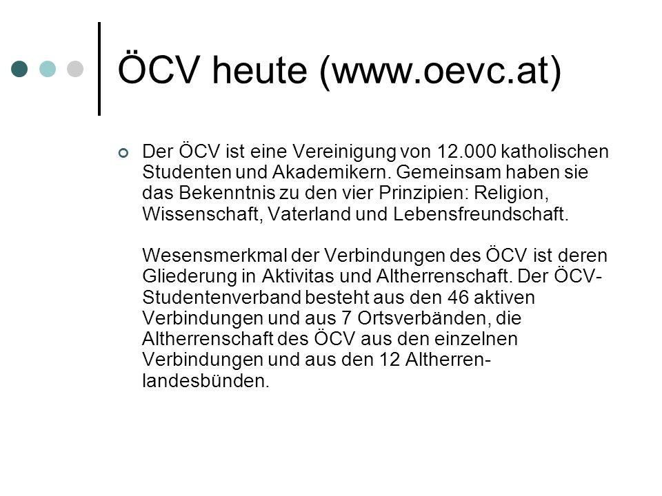 ÖCV heute (www.oevc.at)