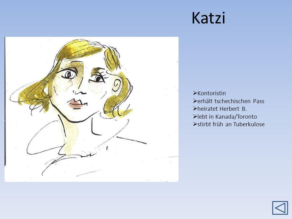 Katzi Kontoristin erhält tschechischen Pass heiratet Herbert B.