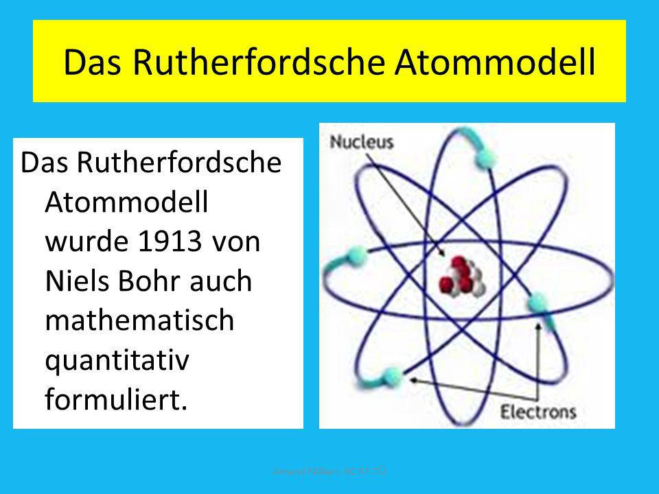 Das Rutherfordsche Atommodell
