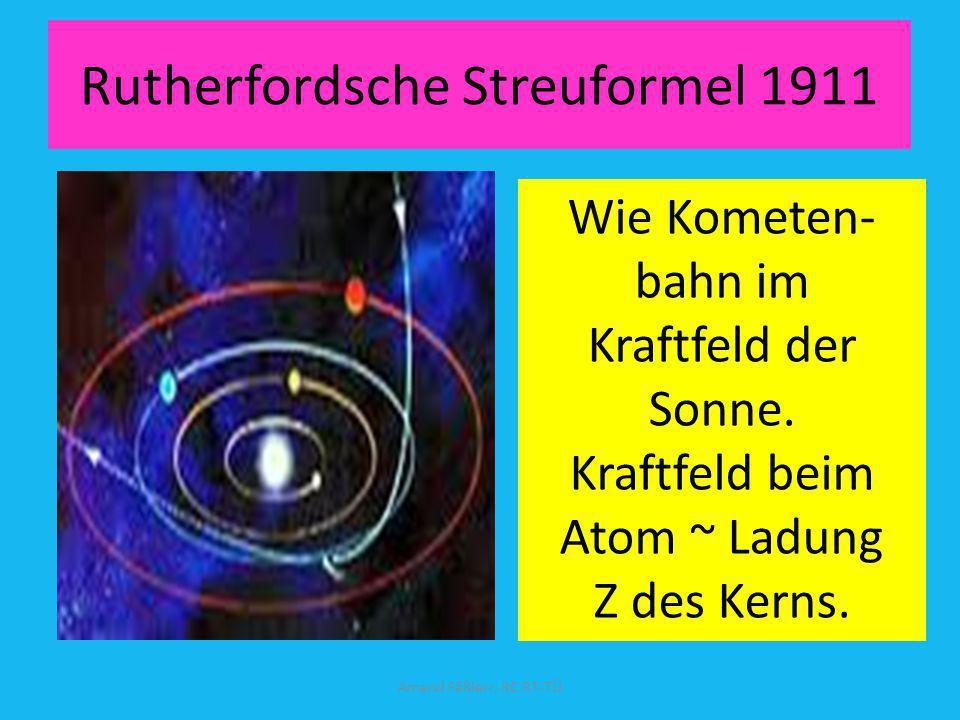 Rutherfordsche Streuformel 1911