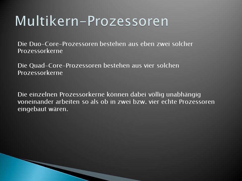 Multikern-Prozessoren