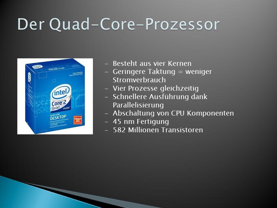 Der Quad-Core-Prozessor